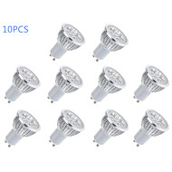 6W GU10 LED Spotlight MR16 5 High Power LED 400 lm Warm White / Cool White AC 85-265 V 10 pcs