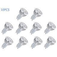 6W GU10 Точечное LED освещение MR16 5 Высокомощный LED 400 lm Тёплый белый / Холодный белый AC 85-265 V 10 шт.