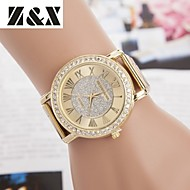 Women's Fashion Diamond Quartz Analog Steel Belt Watch Cool Watches Unique Watches