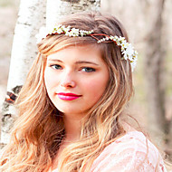 Wedding Flower Crown, Wedding Headpiece, Headband, Head Wreath, Hair Accessories,Flower Girl Flower Headband