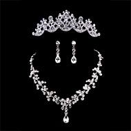 Smykker Set Dame Jubileum / Bryllup / Engasjement / Bursdag / Gave / Spesiell Leilighet Juvel Sett Legering RhinestoneHalskjeder /