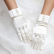 Satin Wrist Length Wedding/Party Glove