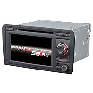 2 Din Car Dvd Player Car Stereo 6.2Inch Wince 6.0 For A3 With 1.2G CPU Gps Map Support Lossess Music 1080P