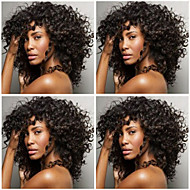 In Stock 14-26Inch Brazilian Virgin Hair Kinky Curly Natural Color Human Hair Lace Front Wig& Full Lace Wigs