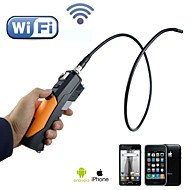 HD 720p Wifi Endoscope 8.5mm Inspection Wireless Endoscope Camera Borescope 6 LEDS Snake Pipe for Android iPhone iPad