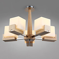 Flush Mount Mini Style Modern/Contemporary Living Room / Bedroom / Dining Room / Study Room/Office / Kids Room /Bamboo
