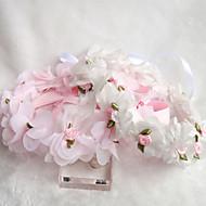 Fleurs Casque Mariage/Occasion spéciale/Casual/Outdoor Satin/Tulle/Vannerie Jeune bouquetière Mariage/Occasion spéciale/Casual/Outdoor1