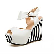 Women's Shoes Heel Wedges / Heels / Peep Toe / Platform Sandals / Heels Outdoor / Dress / CasualBlack / Blue