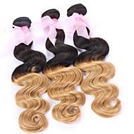 Menschenhaar spinnt Brasilianisches Haar Wellen Haar webt