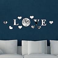 Relógio de parede - Moderno/Contemporâneo - Redonda - DE Outros