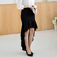 Women's Fashion Irregular Bodycon Chiffon Fishtail Skirt