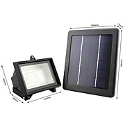40LED IP65 White Color Light Solar Floodlight LED Flood Lights
