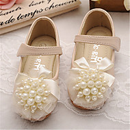 Girls' Shoes Outdoor/Dress Round Toe Faux Leather Flats Pink/Beige