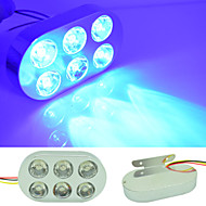 automobile 5w 15LED 480LM spia dei freni lampada stroboscopica lampadina lampeggiante blu dc12v