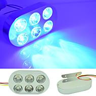 Auto Auto 5W 480lm 15 LED Blitzleuchte Bremsleuchte Glühlampe Warnung blinkt blau dc12v