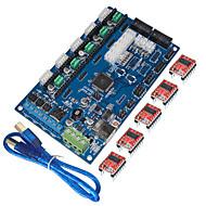 """""""קיס ח""""כים לוח הבקרה של מדפסת 3D v1.2 gen, קו USB (מנהל התקן drv8825)"""""""
