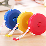infällbar typ plast måttband (slumpmässiga färger)