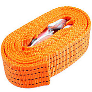 Tough And Durable 3 m Fluorescence Tow Rope Tow Rope Apply To Three Tons Automotive