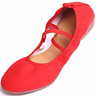 Sapatos de Dança ( Preto/Vermelho ) - Mulheres - Não Personalizável - Sapatilhas de Dança