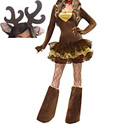 Cute Blown Deer Girls Adult Woman's Halloween Costume