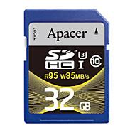 Apacer 32GB SDカードサポート メモリカード UHS-I U3 クラス10