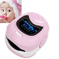 saturimetro ossimetria saturazione di ossigeno nel sangue per monitorare pediatrico di sotto dei 10 anni, con batterie ricaricabili