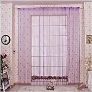 Special Line Curtain /100 * 200 cm, Interior Curtains Decorative Curtain Drape