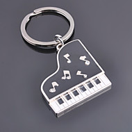 Unisex Alloy Casual Fashion Piano Key Chains