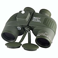 Boshile® 10X50 mm Binoculars Waterproof Roof Prism Night Vision BAK4 Fully Multi-coated Range Finder 132m/1000m Central Focusing