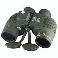 Boshile® 10X50 mm Binocolo Impermeabile Roof Prism Visione notturna BaK4 Multi-rivestimento totale Interfallo di ricerca 132m/1000mMessa