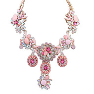 Women's Stylish Elegant European Style Exquisite Luxury Necklace With Rhinestone