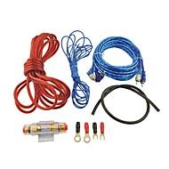 авто автомобиль 500w RCA для аудио RCA кабеля усилитель проводов комплекта