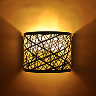 DIY Semi Circle Wall Lamp in Chrome with Nest Pattern