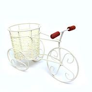 rottinki polkupyörä kukka maljakko kori karkkia astioissa kodin keskipiste kirjoituspöytä sisustus taulukon deocrations