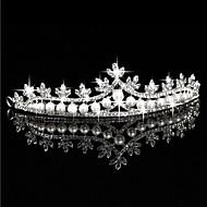 Crown Tiara Hair Flower Bride Hair Wedding Headdress