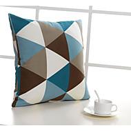 Coton / Coton/Lin Taie d'oreiller , Géométrique Autres