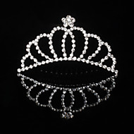 왕관 여성 합금 투구 1개