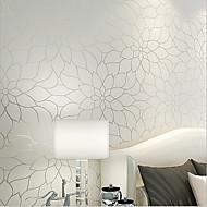 novo arco-íris ™ papel de parede simples floral contemporâneo e elegante fundo tv revestimento de parede arte não-tecido papel de parede