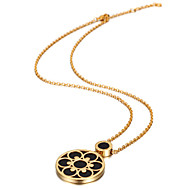 Women's Stainless Steel Necklace With Non Stone