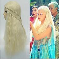 2,015 פאות קוספליי ידי daenerys targaryen משחק נסיכת הדרקון של כסאות קולעים פאת תחפושת