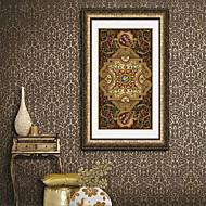 Fantazie Kanvas v rámu / Set v rámu Wall Art,PVC Zlatá Včetně pasparty s rámem Wall Art