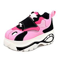 Damesschoenen Kunstleer Platform Comfort Modieuze sneakers Casual/Sport Zwart/Blauw/Roze/Wit/Beige