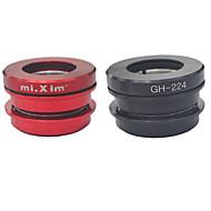 Mi.Xim GH224 Black Red Folding Bike 44MM Built-in Bearing Headset for Fengxing 14 Inch Dahong BYA412/P18 Bike use