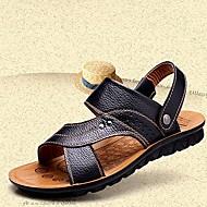 Men's Shoes Outdoor/Casual Sandals Black/Brown/Orange