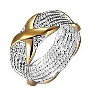 Anéis Diário Jóias Prata Chapeada Anel 1peça,6 7 9 Prateado
