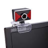 OEM - A872 - 10,0+ - 640 x 480 - Beépített mikrofon/HD Videó hívás/Hajlítható/Skype - Újdonság - Webcam