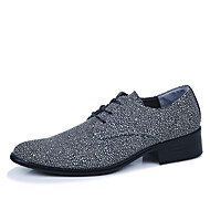 Men's Shoes Casual Oxfords Black/Blue/Red/Gray