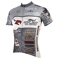 PALADIN Bike/Cycling Jersey / Tops Men's Short SleeveBreathable / Ultraviolet Resistant / Quick Dry / Compression / Lightweight Materials