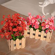 משי / פלסטיק פעמונית פרחים מלאכותיים