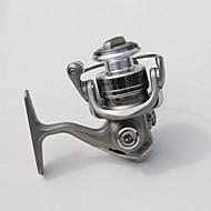 YONGCHANG Brand Gear Ratio 5.1:1 Ice Fishing Mini Reel QQ150 6BB  Line Capacity MM/M 0.2-125 0.23-95 0.25-80